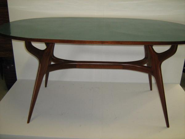 tavolo da pranzo ovale anni 50 | Loft900