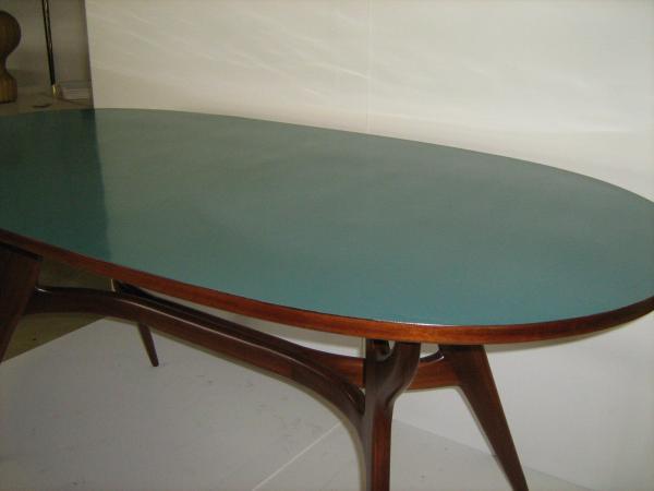 Tavolo da pranzo ovale anni 50 loft900 for Tavolo da pranzo ovale